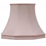 Skirted Octagon Shade Blush