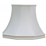 Skirted Octagon Shade Natural