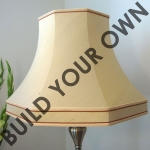 Skirted Octagon Lampshade