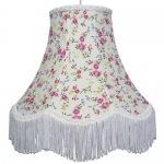 Cotton Lampshade Pink Rose
