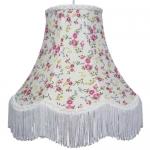 Cotton Lampshade Pink Rose