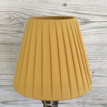 Ribbon Clip on Candle Shade Gold