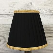 Ribbon Candle Black & Gold