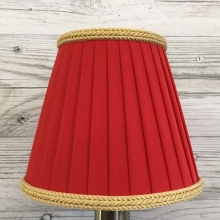 Ribbon Candle Shade Fire & Gold