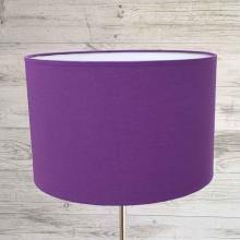 Royal Purple Table Lamp Shade
