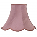 Scalloped Bowed Empire Pink Moire