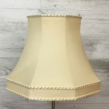 Skirted Octagon Antique Cream
