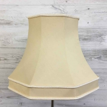 Skirted Octagon Cream