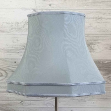 Skirted Octagon Pale Blue