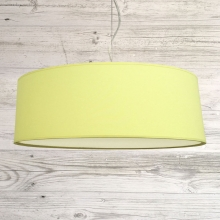 Thin Drum Pendant Citrus