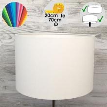 Aura White Drum Table Lamp Shade