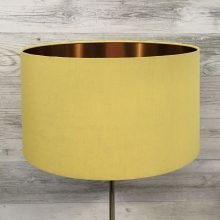 Eclipse Lampshade Yellow/Copper