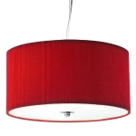 Micro Pleated Drum - Red / L