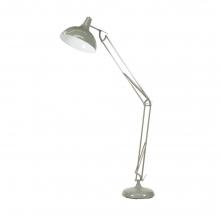 Alonzo Grey Floor Lamp