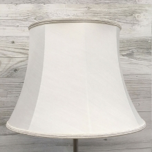 Bowed Drum Shade Natural