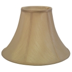 Silk Effect Traditional Bell Candle Shade
