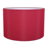 Drum Table Lampshade in Brick Cotton.