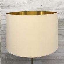 Eclipse Lampshade Cream/Gold