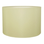 Drum Table Lampshade in Cream Cotton.