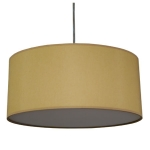 Drum Pendant Shade in Dijon Cotton
