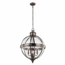 Adams 4 light Antique Nickel