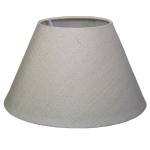Textured Empire Candle Lamp Shade