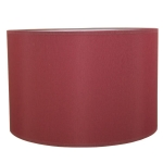 Drum Table Lampshade in Wine Cotton.