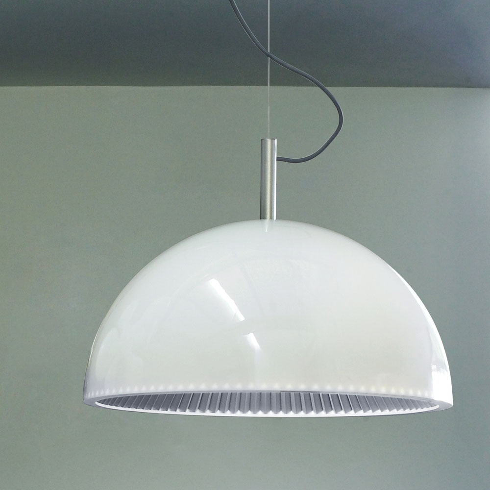 Vault White Large Pendant