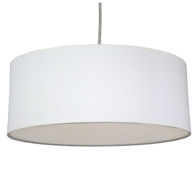Drum Ceiling Shade White