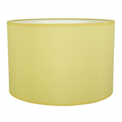 Drum Table Lampshade Yellow
