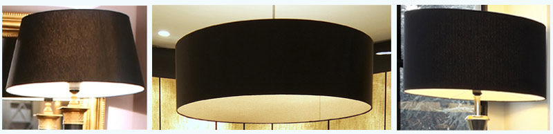Black Lamp Shades Imperial Lighting