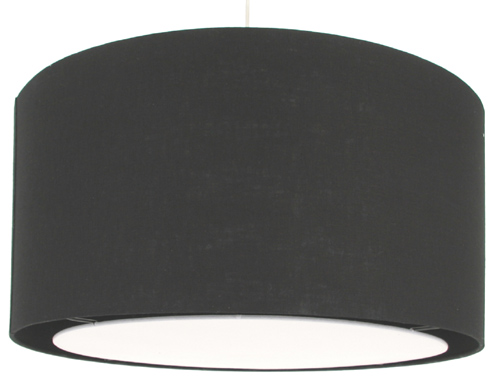 Black Drum Lamp Shades on Black Drum Lamp Shade