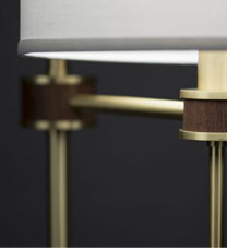 Modern Floor Lamp Detail