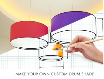 Extra large drum lamp shades up to 2m imperial lighting extra large drum lamp shades mozeypictures Gallery